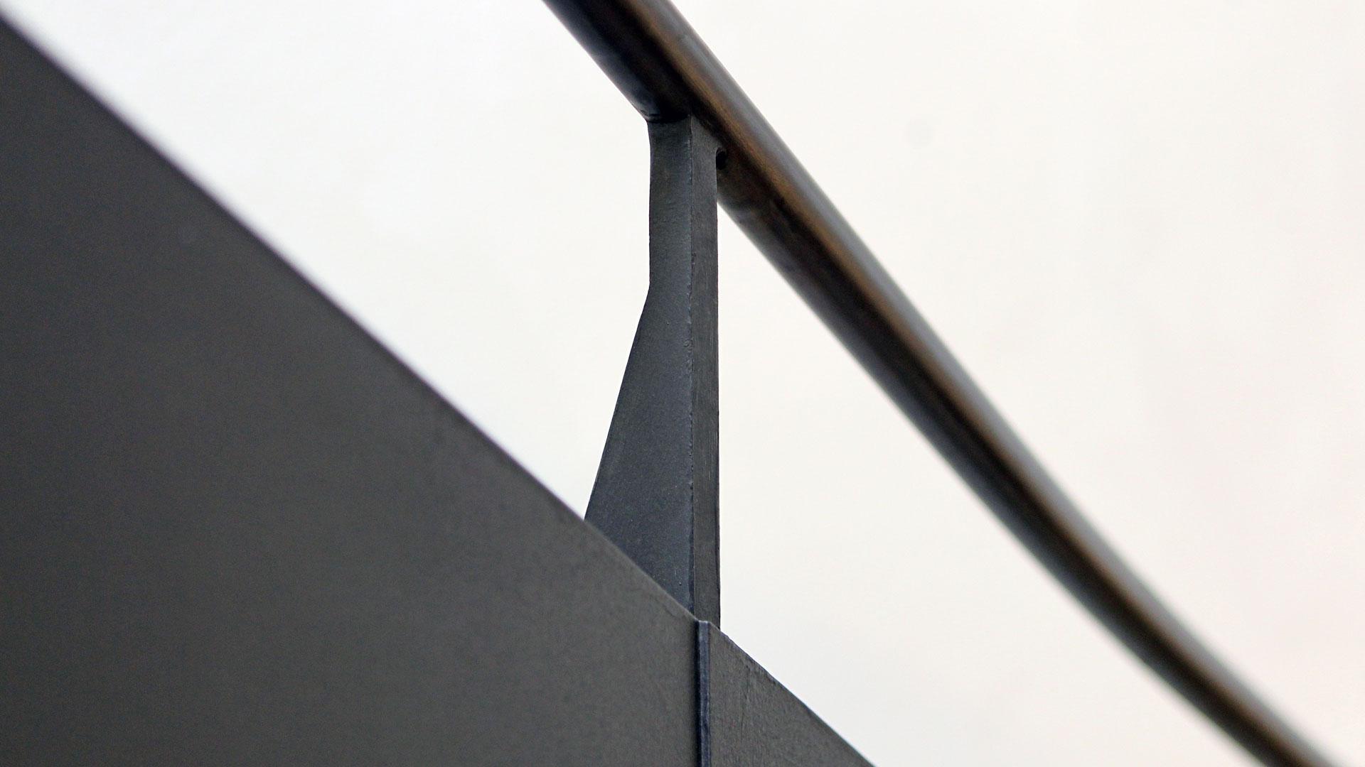 Geländer aus Metall