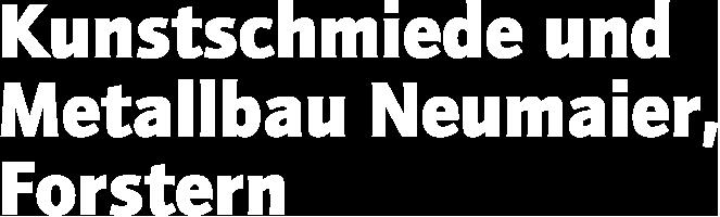 Wortmarke Kunstschmiede und Metallbau Neumaier, KMN