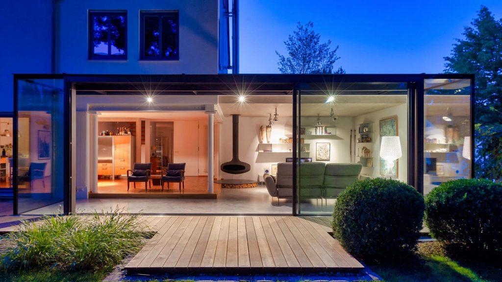 Glaspavillon, Glashaus