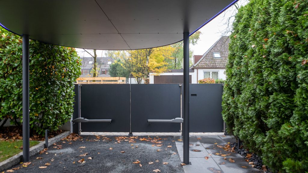 Carport, Metall